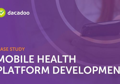 Enabling the digital healthcare world by supporting the Dacadoo's mobile health platform development