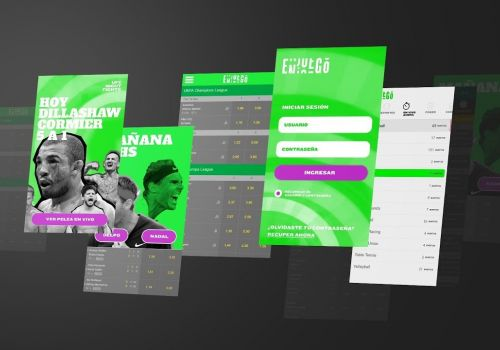 User Experience and Digital Branding Animated Video for Online Betting Platform