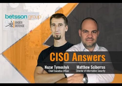 CISO Answers - Interview with Matthew Sciberras