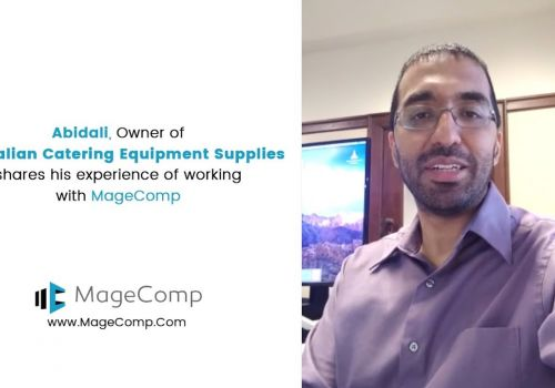 Abidali shares his experience of working with MageComp