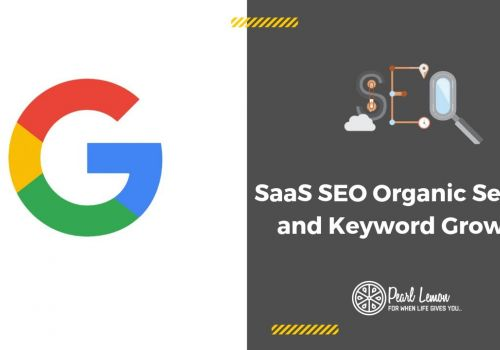 SaaS SEO | Organic Search and Keyword Growth | Pearl Lemon SEO Case Study