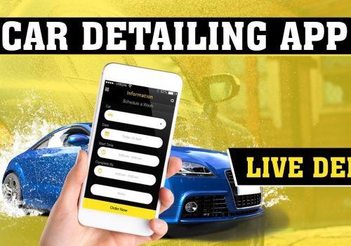 On Demand Car Wash App Clone Script   Car Detailing App   Car Washer Man and User Live Demo