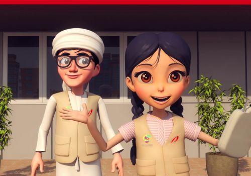 Hamdan Foundation Cartoon Animation Video 01