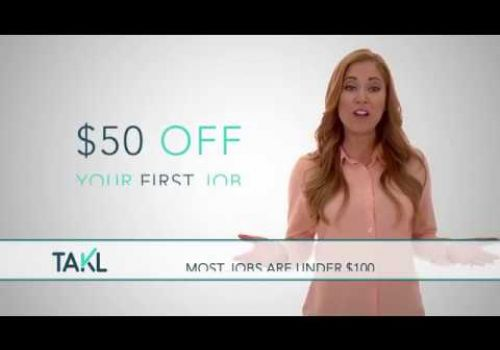 TAKL |  Download Now and Get $50 off your First Job
