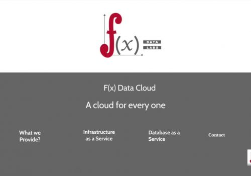Brief introduction of F(x) Data Cloud