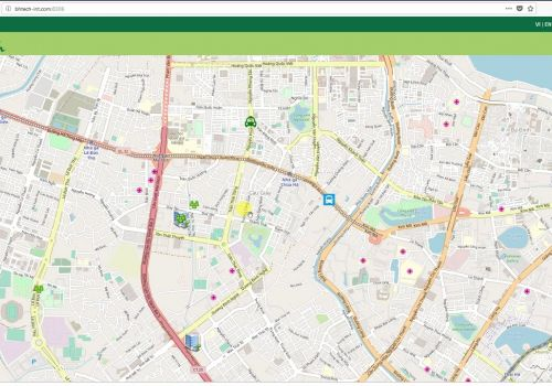 GIS - Web Map View Demo with GeoSever, OpenLayers, OpenStreeMap