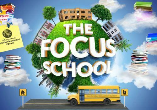 The Focus School Teaser Design
