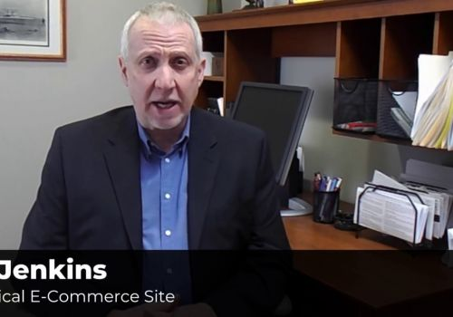 Medical E-commerce Site Testimonial