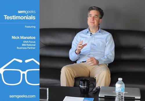 Nick Manatos, ENAfocus, Testimonial