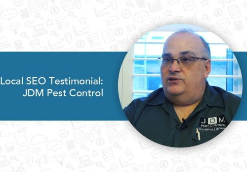 Local SEO Search Testimonial  JDM Pest Control