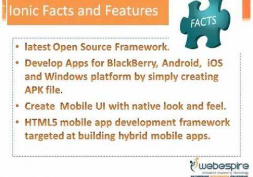 Ionic Framework : Next Generation Open Source Framework for Cross Platform Mobile App Development