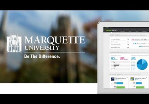 Sprout Social Case Study   Marquette University