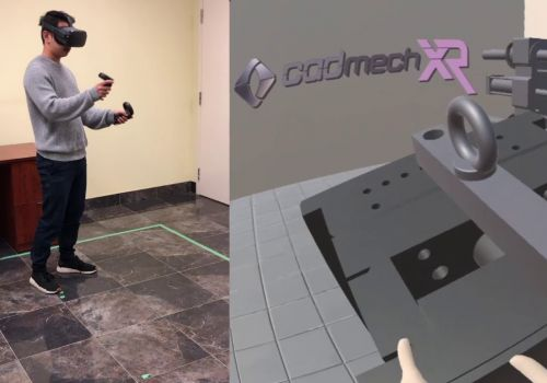 Oculus Quest Training Demo for Injection Molding Machine