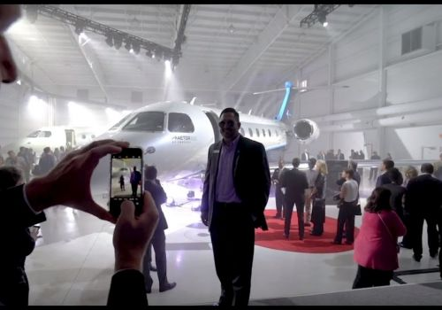 AEG Embraer Unveiling at The Hangar Orlando