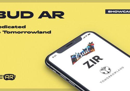 WeAR Studio showcase: BUD AR dedicated to Tomorrowland