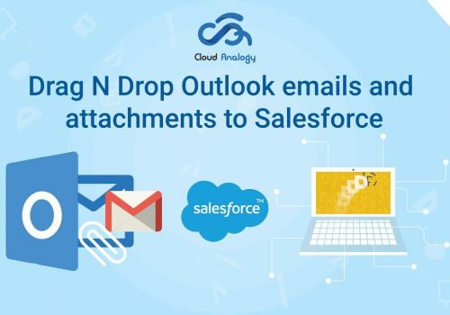 Salesforce™ Drag N Drop Outlook™ emails and attachments