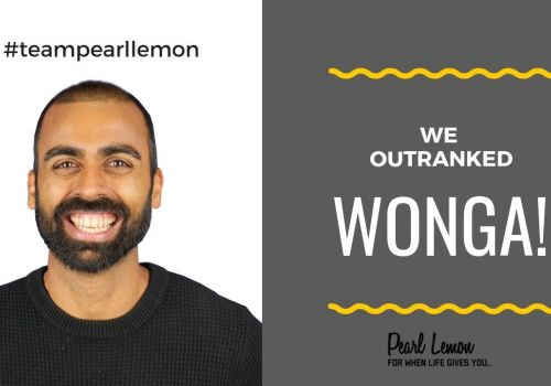 Outranking Wonga | 17 Page 1 Keywords | Off-Page Link Building | Pearl Lemon Official