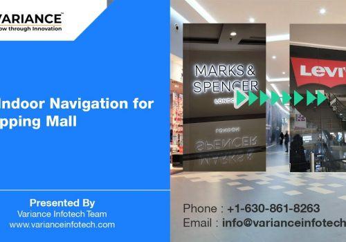 AR Indoor Navigation at Shopping Mall