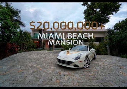 Miami Beach $20M+ Luxury Home Video