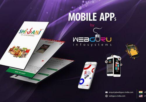 Mobile Apps by Webguru Infosystems