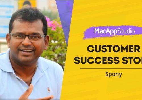 Customer Success Stories - Spony App