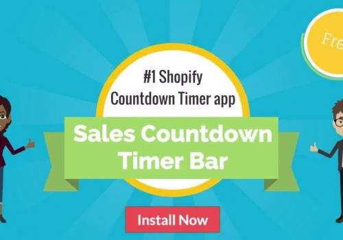 Shopify Sales Countdown Timer Bar App by SpurIT