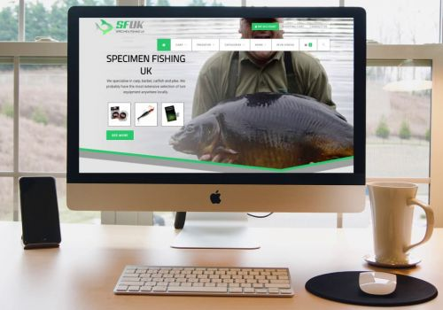 sfuk - Specimen Fishing UK website design and development