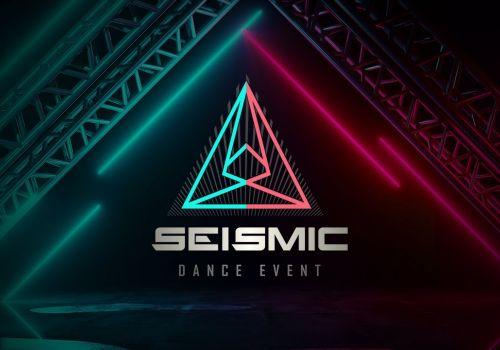 Seismic Dance Event Website Design
