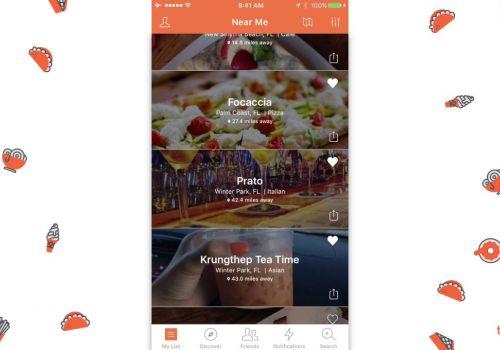 To Eat List App Walk-Thru