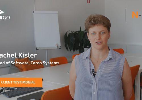 Rachel Kisler - N-iX and Cardo Systems Experience
