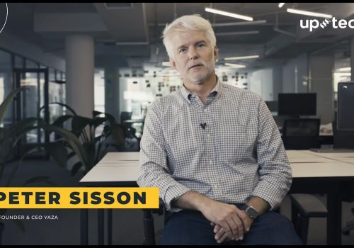 Peter Sisson -  Yaza and Uptech experience