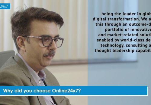 Online24x7 Customer Testimonial - Brillio