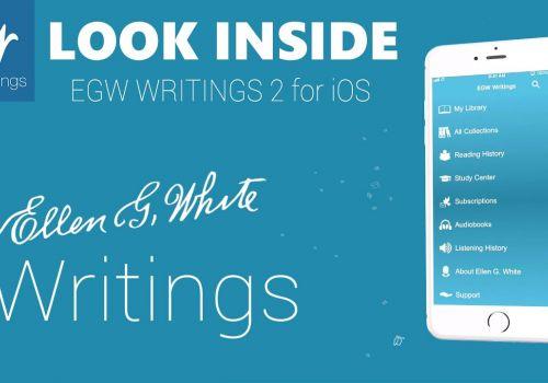 Look inside EGW Writings 2 for iOS