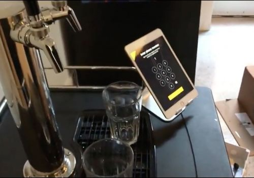 Facial Recognition-Powered Beer Tap Application Demo