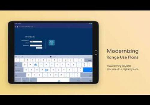 MyRangeBC App Demo Video