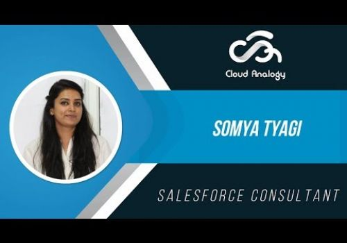 Somya Tyagi - Salesforce Consultant