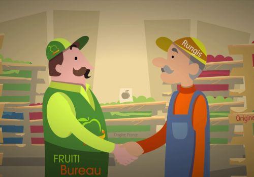 Vidéo Explicative Animée pour Fruiti Bureau