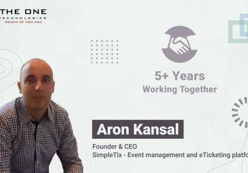 Client Testimonial by Aron Kansal for Mobile & Web Development