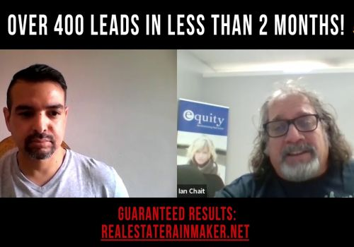 Ian Chait Youtube Testimonial Video - Real Estate client With Over 400 Leads