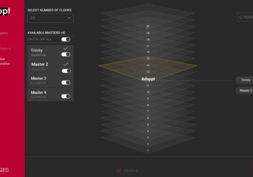 UX Design for ADAPPT Lighting Management System