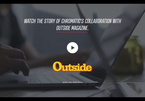 Chromatic Perspectives – Outside Magazine Collaboration
