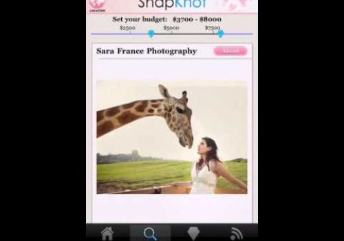 Free iPhone Wedding Planning App from SnapKnot