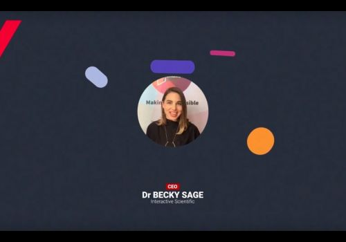 Dr Becky Sage, CEO, Interactive Scientific - Client testimonial