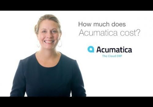 UPDATED-A Quick Explanation of Acumatica Cloud ERP Pricing