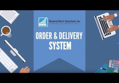DreamzTech's Order & Delivery System