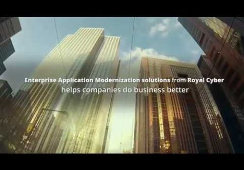 Enterprise Application Modernization Solutions from Royal Cyber