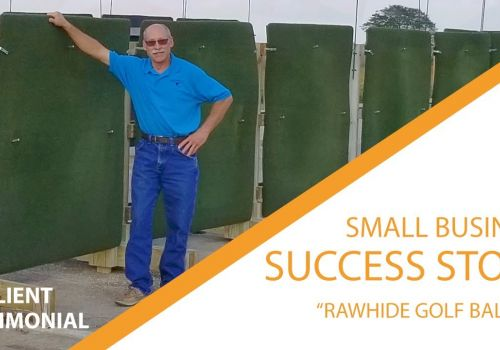 Small Business Success Stories - RawHide Golf Ball Co!