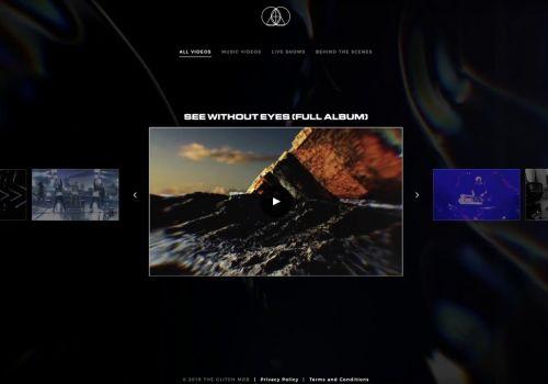 The Glitch Mob Website Redesign