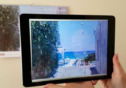 Календарь DockeART - приложение с дополненной реальностью для оживления картин