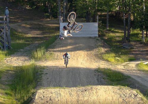 Highland Park Mountain Bike Park Drone Video